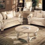 Kursi Sofa Tamu Angsa Duco Putih Terbaru