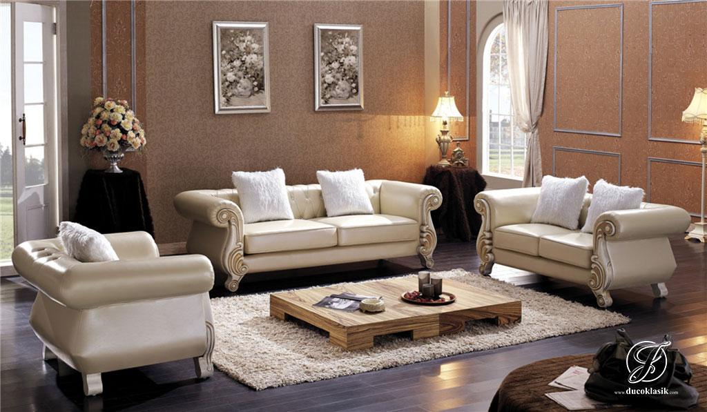 Kursi Sofa Tamu Chester Terbaru Cat Duco