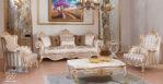 Kursi Sofa Tamu Mewah Hermes Classic