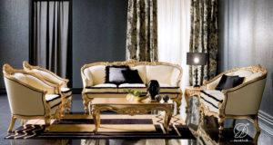 Kursi Sofa Tamu Italian Klasik Mewah