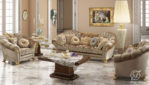 Kursi Sofa Tamu Mewah Italian Classic