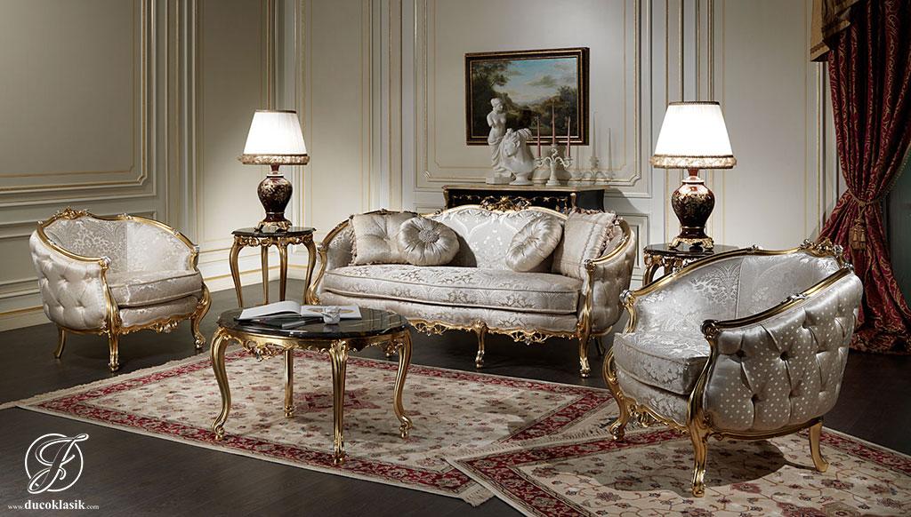 Kursi Sofa Tamu Mewah Italy Classic