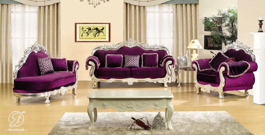 Kursi Sofa Tamu Mewah Model Itali Modern