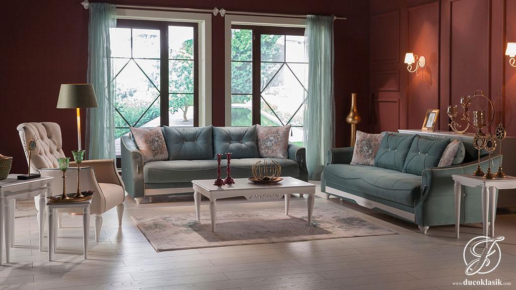 Kursi Sofa Tamu Minimalis Duco Klasik Mewah