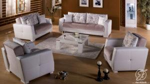 Kursi Sofa Tamu Minimalis Duco Kristal Modern