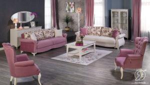 Kursi Sofa Tamu Minimalis Modern Perla Mewah