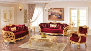 Kursi Sofa Tamu Modern Clermont Ukir Klasik