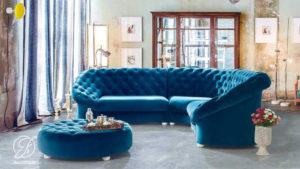 Kursi Sofa Tamu Sudut Minimalis Chester Terbaru