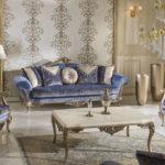 Kursi Sofa Tamu Ukir Ratu Klasik Mewah
