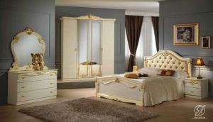 Set Kamar Tidur Duco Klasik Modern Italia