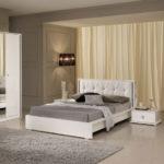 Set Kamar Tidur Duco Putih Minimalis Modern
