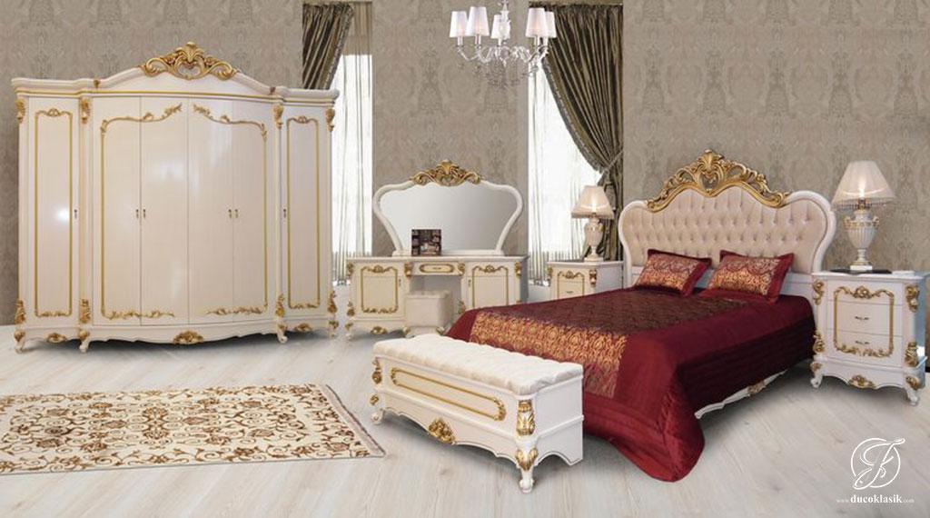 Set Kamar Tidur Mewah Duco French Klasik