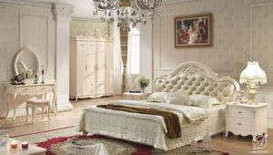 Set Kamar Tidur Mewah Duco Perancis