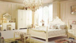 Set Kamar Tidur Minimalis French Duco Putih