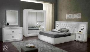 Set Kamar Tidur Minimalis Terbaru Duco Putih