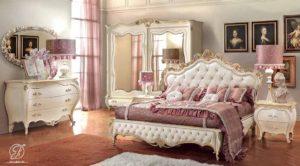 Set Kamar Tidur Ukir Romantica Klasik Mewah