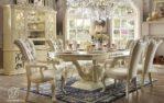 Set Meja Makan Duco Marbella Klasik