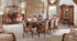 Set Meja Makan Inlay Duco Ukir Klasik
