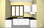 Kitchen Set Letter U Minimalis Modern