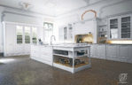 Kitchen Set Mewah Minimalis Duco Modern