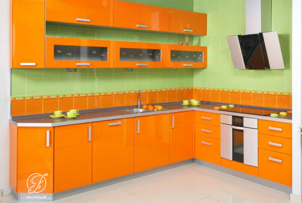 Jual Kitchen Set Minimalis L Duco Modern Furniture Duco Klasik