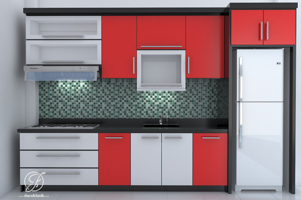 Jual Kitchen Set Minimalis Modern Duco Jepara Furniture Duco Klasik