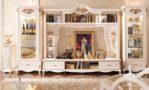 Set Bufet TV Eropa Duco Ukir Klasik