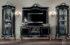 Set Bufet TV Klasik Italian Duco Black