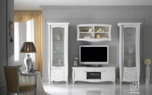 Set Bufet TV Minimalis Duco Cisena Modern