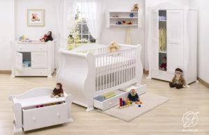 Set Kamar Anak Bayi Minimalis Bagong Putih