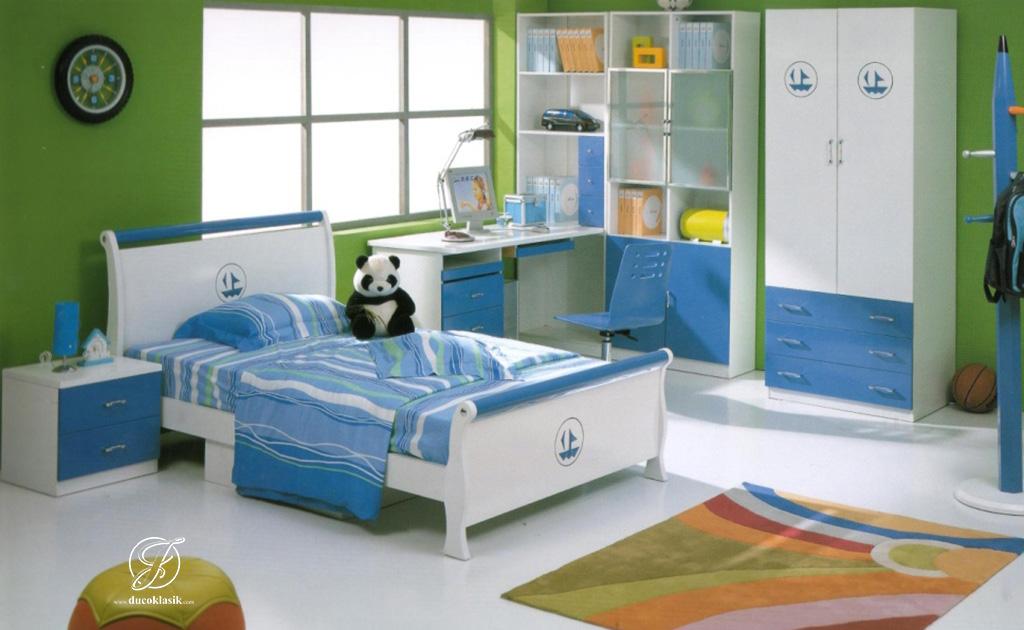 Set Kamar Anak Laki Laki Minimalis Berkarakter