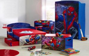 Set Kamar Anak Modern Karakter Spiderman