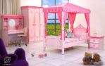 Set Kamar Tidur Anak Cantik Duco Pink