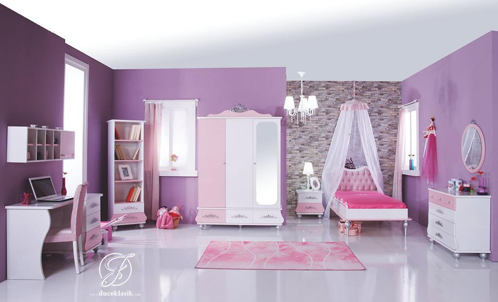Set Kamar Tidur Anak Cantik Princess Modern