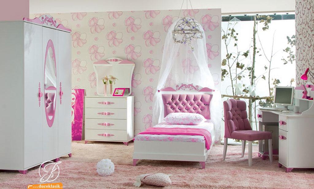 Set Kamar Tidur Anak Duco Princess Cantik