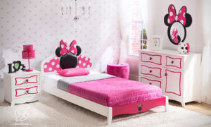 Set Kamar Tidur Anak Mickey Mouse Modern