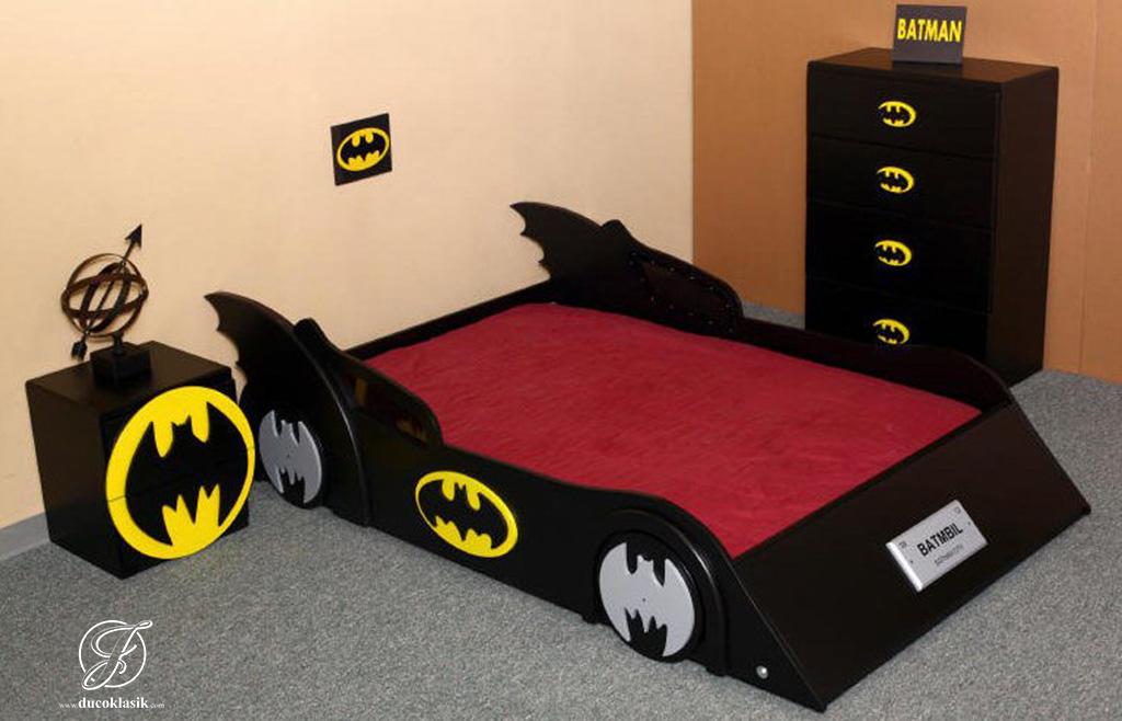 Jual Set Kamar Tidur Anak Mobil Batman Furniture Duco Klasik