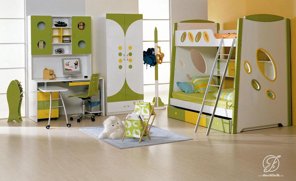 Set Tempat Tidur Tingkat Minimalis Duco Modern