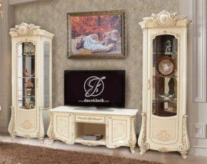Set Bufet TV Duco Ukir Monreal Modern
