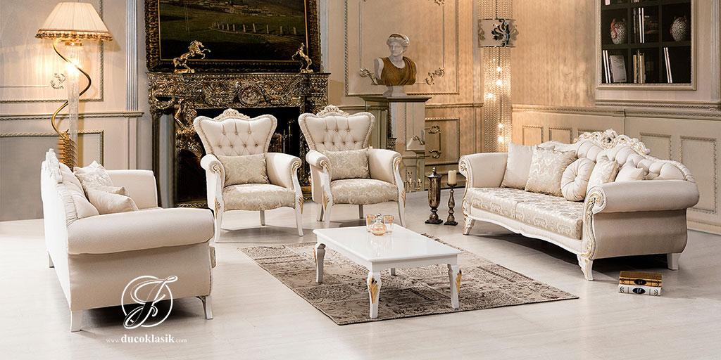 Set Kursi Sofa Tamu Duco Lamia Modern