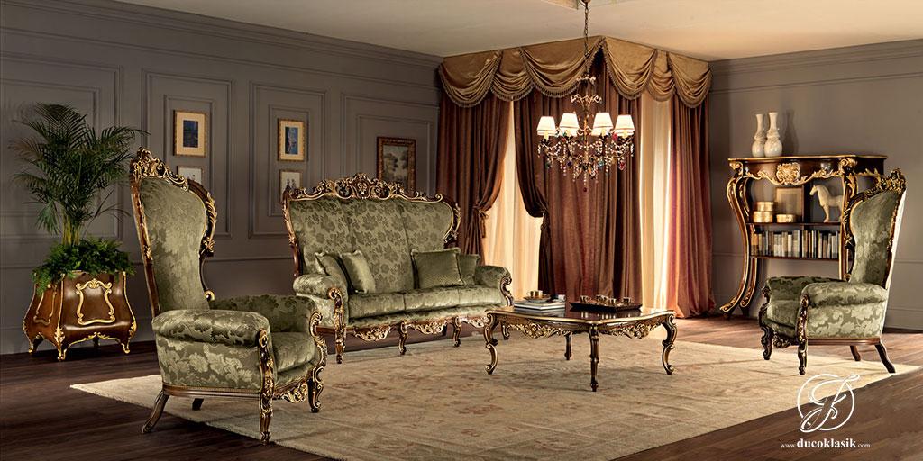 Set Kursi Sofa Tamu Kartini Klasik