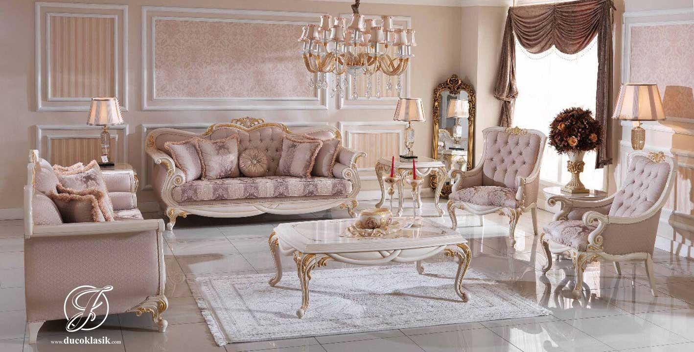 Set Kursi Sofa Tamu King Duco Mewah