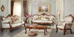Set Kursi Sofa Tamu Klasik Ukir Mayla