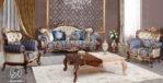 Set Kursi Sofa Tamu Klasik Ukir Rudra