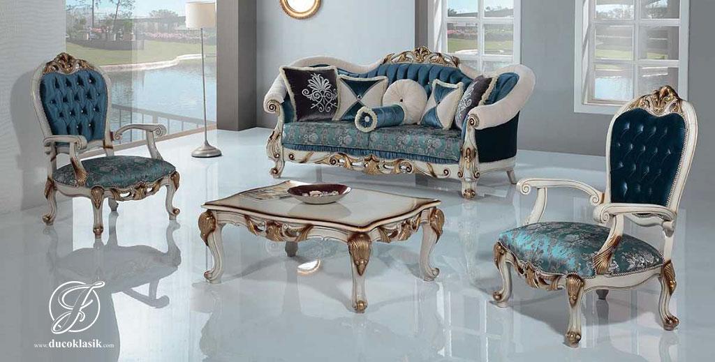 Set Kursi Sofa Tamu Modern Duco Konya