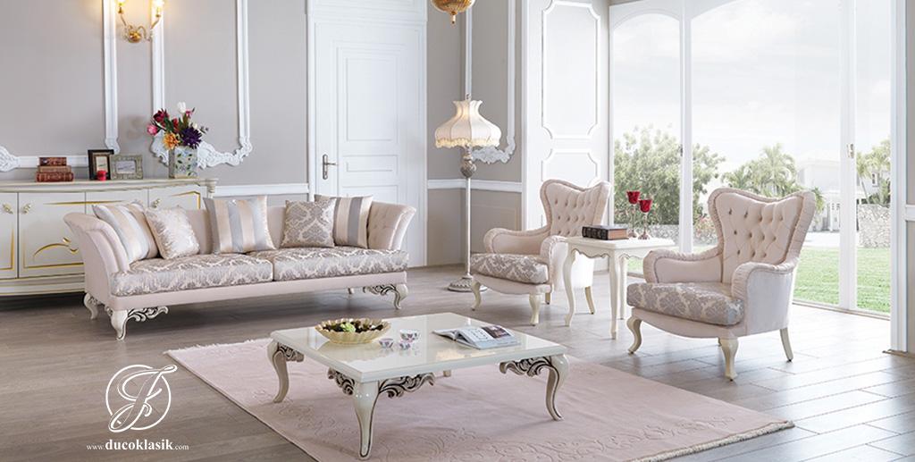 Set Kursi Sofa Tamu Modern Duco Luis