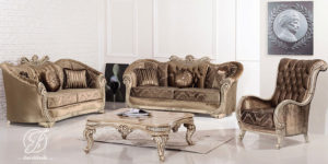 Set Kursi Sofa Tamu Modern Partial Duco