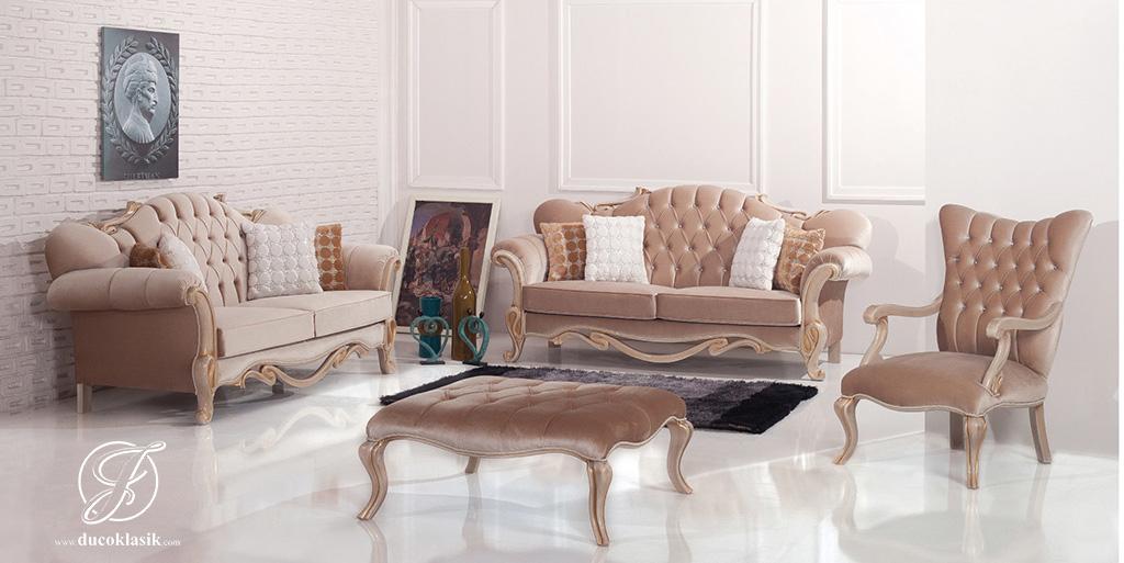 Set Kursi Sofa Tamu Modern Ruby Duco