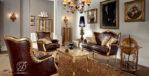 Set Kursi Sofa Tamu Rumah Kantor Klasik