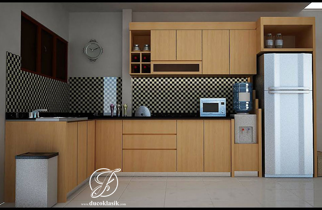 Jual Kitchen Set Terbaru Dapur Minimalis L Furniture Duco Klasik